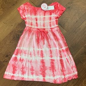 NWT justice girls tie dye dress-2 sizes available